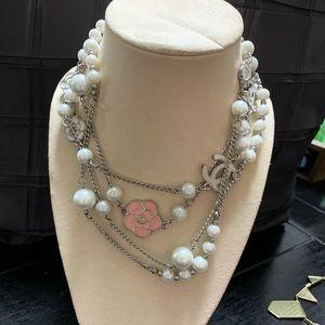 Faux designer necklace